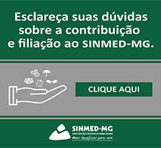 Seja um filiado ao Sinmed-MG e faça...