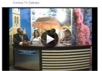 Correio TV Debate sobre saúde pública
