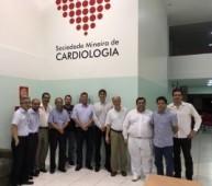 Visita da Diretoria do Sinmed-MG à Sociedade Mineira de Cardiologia