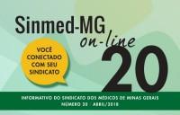 SINMED ON-LINE - 20ª EDIÇÃO - ABRIL 2018