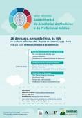 """Faça sua inscrição para a mesa redonda:""""Saúde mental do acadêmico de medicina e do profissional médico"""""""