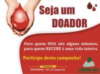 25 de novembro: dia nacional do doador de sangue. Abrace esta causa em favor da vida!