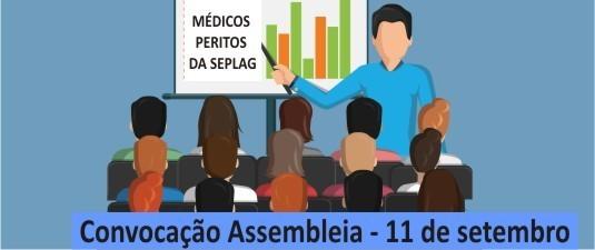 Atenção médicos peritos da Seplag: temos assembleia da categoria. Participem!