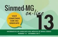 SINMED ON-LINE - 13ª EDIÇÃO - SETEMBRO 2017