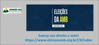 Sinmed-MG lembra os colegas:  31 de agosto é o último dia de votação nas eleições da Associação Médica Brasileira