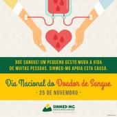 25 de novembro: Dia nacional do doador de sangue. Amplie a corrente de solidariedade e ajude a salvar vidas