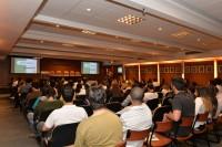 Terceiro evento no CRMMG de entrega da carteira profissional aos formandos, no dia 21 de maio