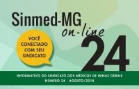 Sinmed On-Line - 24ª Edição - Agosto 2018
