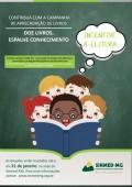 """Participe da campanha social do Sinmed-MG: """"Doe livros, espalhe conhecimento"""""""