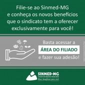 Filie-se ao Sinmed-MG e conheça os novos benefícios que o sindicato tem a oferecer exclusivamente para você