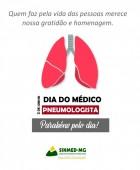 2 de junho: Dia do Pneumologista