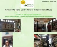 Sinmed in loco: diretora do sindicato visita Centro Mineiro de Toxicomania e encontra mais uma unidade precária da FHEMIG