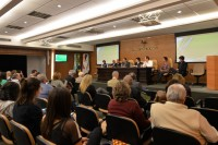 Sindicato participa de evento no CRM para discutir avaliação e sistema de acreditação das escolas médicas