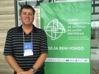 """Sinmed-MG troca experiências no campo da saúde e gestão no """"Fórum Internacional de Sistemas de Saúde Universais – Modelos de Gestão e Inovação em Saúde"""""""