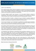 CARTA AOS MINEIROS EM DEFESA DA MEDICINA E SAÚDE