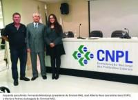 Sinmed-MG participa de reunião na Confederação Nacional dos Profissionais Liberais