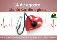 14 de agosto: dia do Cardiologista. Sinmed-Mg parabeniza os colegas que dedicam a esta especialidade
