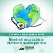 7 de abril- Dia Mundial da Saúde