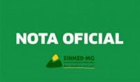 Nota oficial do Sinmed-MG acerca da regulamentação da telemedicina no país, aprovada pelo CFM