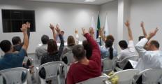 Precarização da saúde pública em Contagem, com  chegada do Cismep, foi tema recorrente na AGE de 30/junho