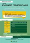 """Sinmed-MG promove a 3ª edição do Seminário """" Direito Previdenciário do médico - Reforma da Previdência –, no dia 26 de abril"""