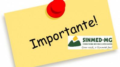 Comunicado importante aos médicos servidores do estado (Ipsemg, FHEMIG, Hemominas) acerca do Informe de Rendimentos 2018
