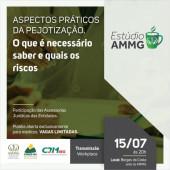 """Pejotização - SINMED-MG participa do evento """"Estúdio AMMG"""", no próximo dia 15/07/2019 às 20 horas."""