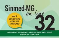Sinmed on-line- edição 32- já está disponível para você