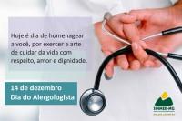 14 de dezembro - Dia do médico alergologista