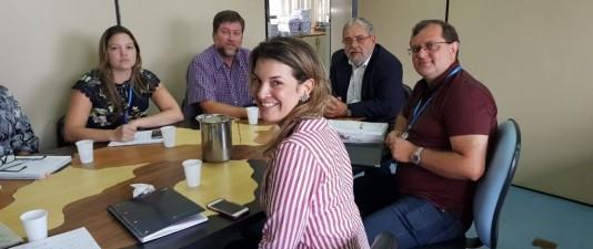 Sinmed-MG em reunião com gestores da PBH para discutir ponto eletrônico e pauta da categoria