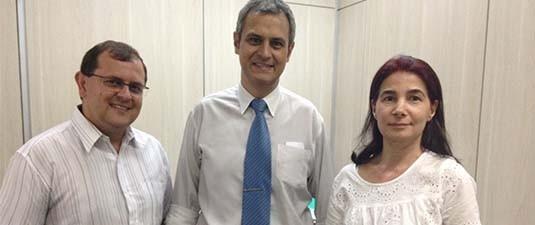 Sindicato visita vereadores Dr. Sandro e Sérgio Fernando para pedir apoio à votação do PL 1908/16