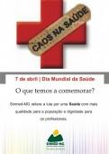 7 de abril- Dia Mundial da Saúde: O que temos a comemorar?