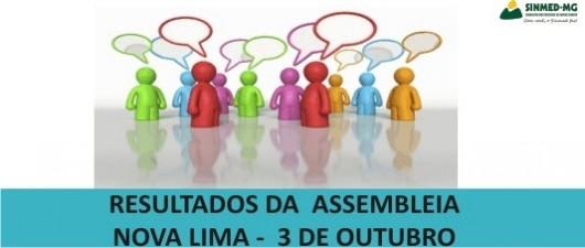 Médicos de Nova Lima decidem em AGE por dar continuidade ao movimento