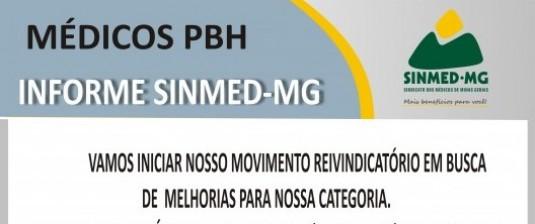 Assembleia geral dos médicos da PBH