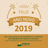 Um novo ano se aproxima: Sinmed-MG deseja a todos paz, saúde e realizações em 2019 para a categoria médica