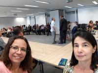 Diretoras do Sinmed-MG participam de reunião na Cidade Administrativa para apresentação do novo secretário de Planejamento, Otto Alexandre Levy Reis