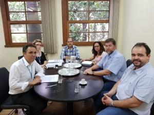 Sinmed-MG em reunião com FHEMIG para tratar da pauta de  reivindicações dos médicos
