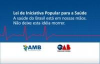 Sinmed-MG e entidade médicas unidas em apoio à Lei de Iniciativa Popular para a Saúde