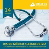 14 de dezembro: dia do médico alergologista. Receba nossa homenagem