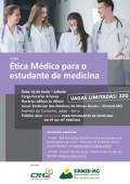 Curso de Ética Médica para estudante de médicina promovido pelo Sinmed-MG em parceria com o CRMMG