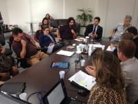 Diretoria do Sinmed-MG discute com gestão retirada de emendas do projeto de lei que concede reajuste para servidores da PBH