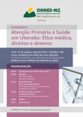 Sinmed-MG promove seminário sobre atenção primária em Uberaba, dia 20 de agosto