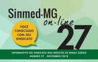 Sinmed On-Line - 27ª edição - novembro 2018