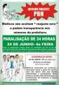 Médicos da PBH fazem nova paralisação de 24 horas, no dia 24/6