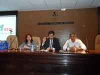 Sinmed-MG participa de evento no CRMMG para  entrega da carteira profissional aos formandos