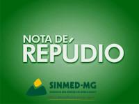 Nota de repúdio do Sinmed-MG contra agressão a médico no posto de saúde em Ribeirão das Neves