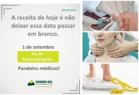 1 de setembro - Dia do endocrinologista