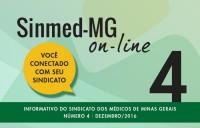 4a edição do Sinmed-MG on-line já está disponível no site e enviada para categoria