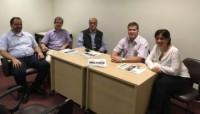 Diretoria do Sinmed-MG em ação: sindicato visita Sociedade Mineira de Terapia Intensiva (Somiti) e Associação Brasileira de Medicina de Emergência (Abramede-MG) e reforça a parceria com as entidades