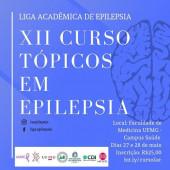 XII Curso Tópicos em epilepsia - 27 e 28 de maio
